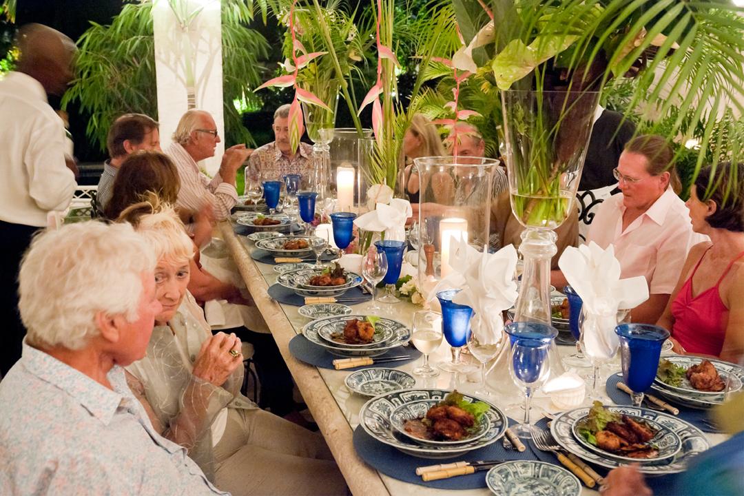 Dining area leamington house a luxury villa in barbados